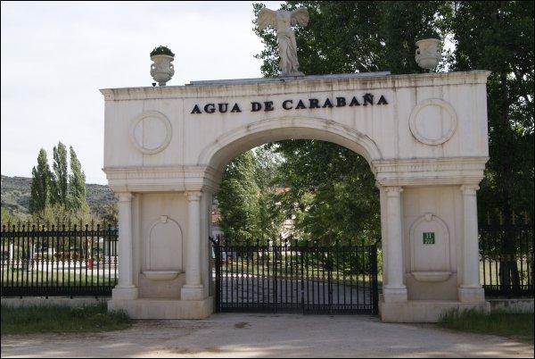 La antigua central eléctrica de Carabaña, sede de Aguas de Carabaña