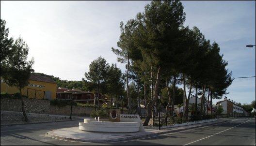 Entrada a Carabaña desde Tielmes