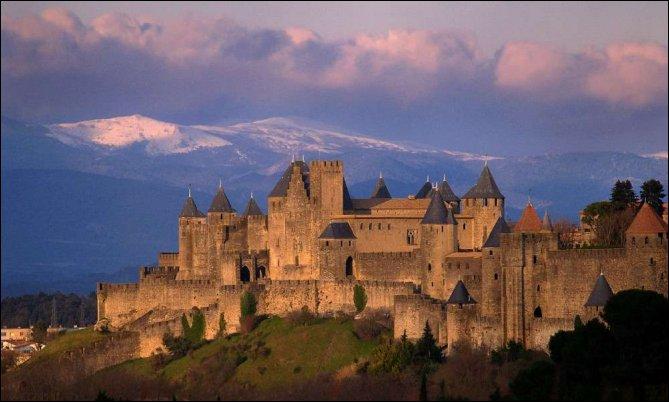Carcassonne es una preciosa ciudad medieval situada en el Languedoc
