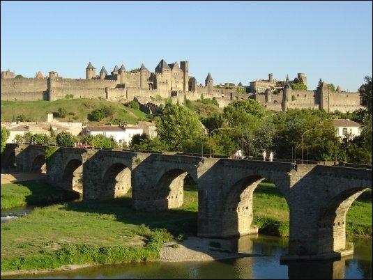 El Pont Vieux , uno de los símbolos de Carcassonne