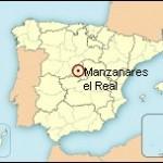 Mapa de situación de Manzanares el Real