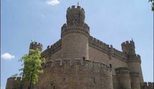 El precioso Castillo de Manzares El Real