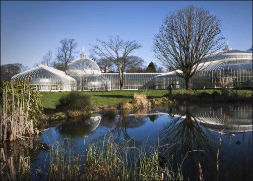 Los preciosos Jardines botánicos de Glasgow
