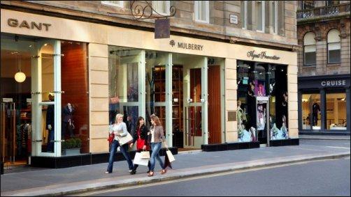 La Glasgow Style Mile, sueño para los amantes de las compras