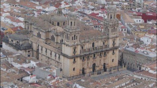 La Catedral de Jaén vista desde el Castillo de Santa Catalina. Impresionante