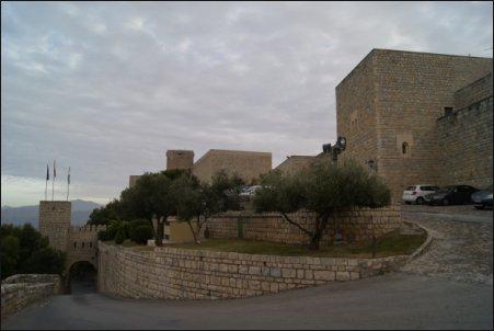 Parador de Jaén. Castillo de Santa Catalina
