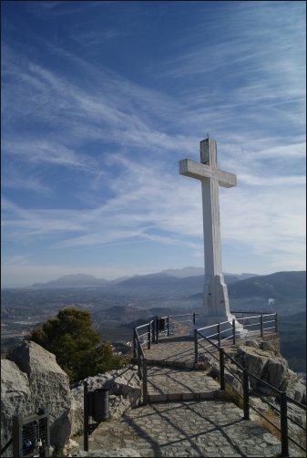 La Cruz Blanca en Jaén, Andalucía