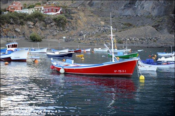 Tipismo pesquero en La Gomera