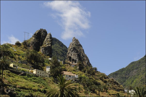 Preciosa vista de La Gomera