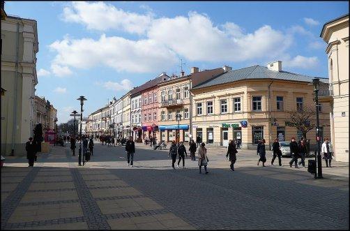 Krakowskie Przedmiescie, el corazón de Lublin
