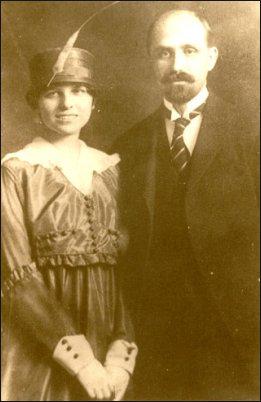 Juan Ramón Jiménez y su esposa Zenobia