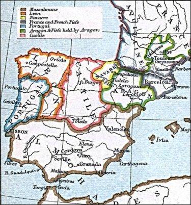 Así era la península ibérica a finales del siglo XII: cinco reinos cristianos y el imperio almohade