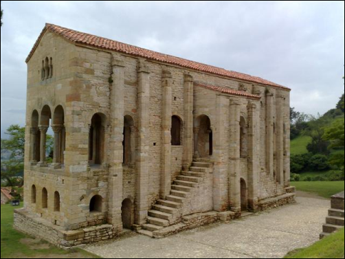 La Iglesia de Santa María del Naranco, un precioso vestigio del prerrománico español