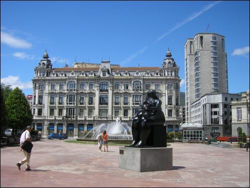 La Plaza de Escandalera, uno de los lugares más bonitos de Oviedo