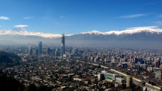 Santiago de Chile en una preciosa panorámica