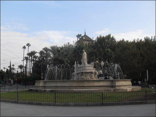 Sevilla cuenta con multitud de parques, fuentes y espacios abiertos