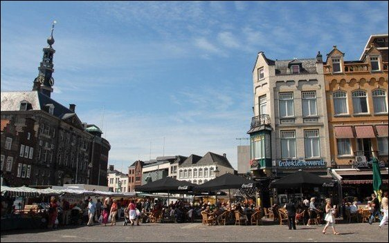 Den Bosch, capital de la provincia de Brabante Septentrional