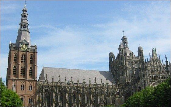 La Catedral de San Juan, una maravilla en Den Bosch