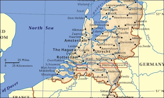 El sur de los Países Bajos