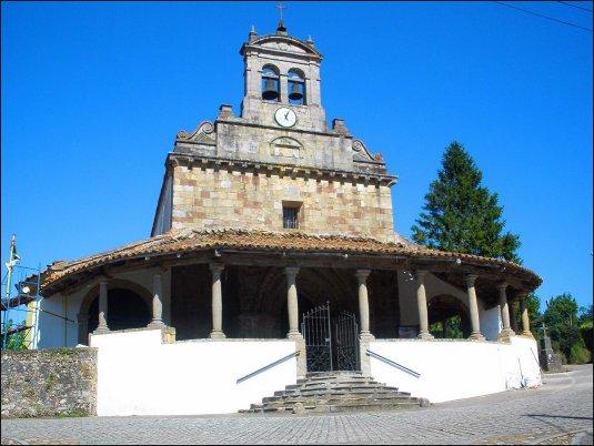 La Iglesia de San Juan de Amandi