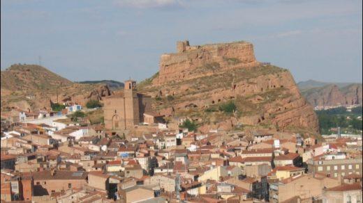 Panorámica de Arnedo, con el Castillo dominando el conjunto.