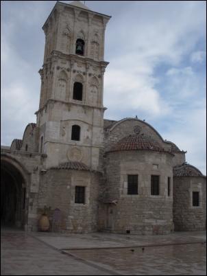 La iglesia de San Lázaro, en Larnaka, Chipre