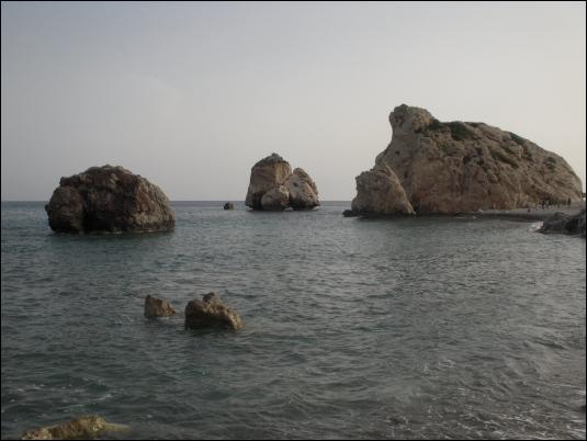 """""""Petra Tou Romiou"""", punto de encuentro para los seguidores de Afrodita, en Chipre"""
