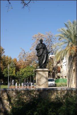 Estatua homenaje al gran Séneca