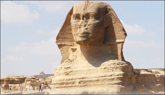 La Gran Esfinge de Guiza (El Cairo)