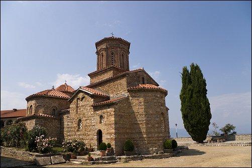 El monasterio de San Naum