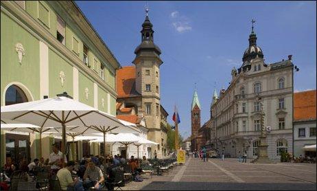 Otra imagen del centro de Maribor