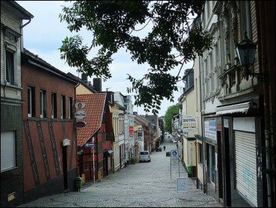 La Waldhausener Straße en Mönchengladbach