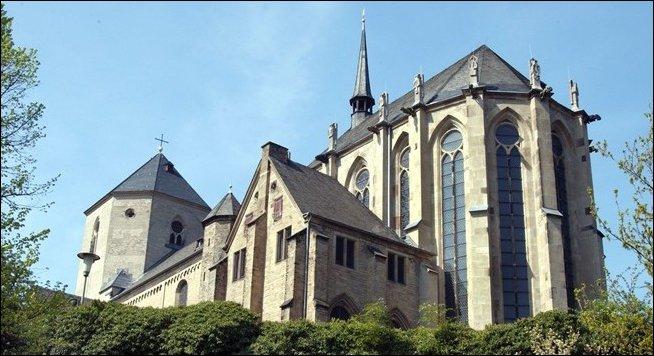 La preciosa Catedral de San Vito de Mönchengladbach