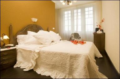 Detalla de una habitación del Hotel Balneario Palacio de las