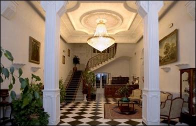 Interior de Hotel Balneario Palacio de las