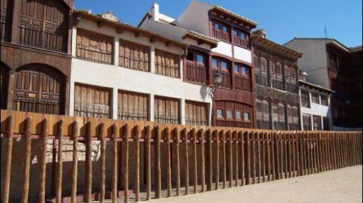 La Plaza del Coso de Peñafiel.