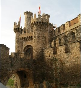 el Castillo de los Templarios, declarado Monumento Nacional Histórico Artístico en 1924