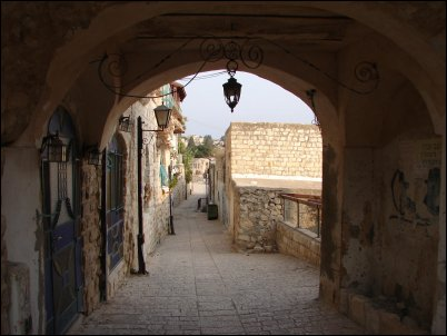 Safed fue ciudad romana pero los vestigios fueron borrados con la llegada de los templarios y la construcción de su fortaleza