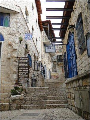 El turista que quiera conocer Safed ha de pasar irremediablemente por la ciudadela o Metzuda