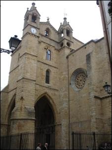 La Iglesia de San Vicente es el templo más antiguo de San Sebastián