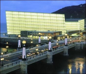 El Palacio de Congresos Auditorium Kursaal