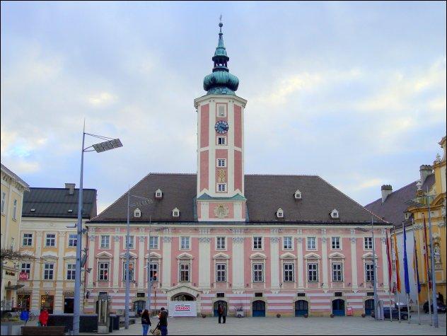 Sankt Pölten: Rathausplatz