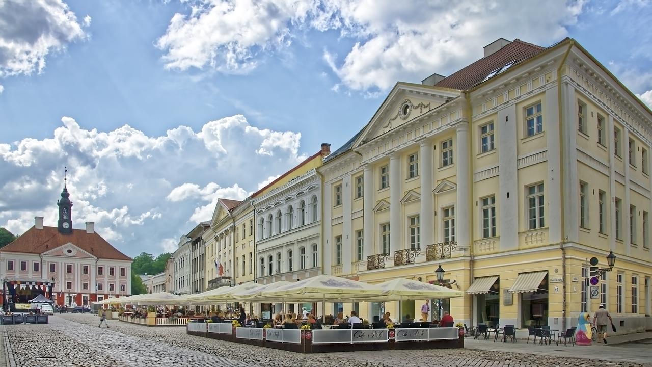 Tartu, en el sur de Estonia es otra ciudad que no podemos perdernos