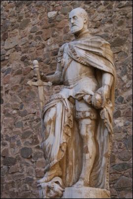 Estatua de Carlos V en Toledo
