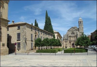 La impresionante Plaza Vázquez de Molina, en Úbeda.
