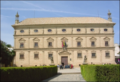 El Palacio Vázquez de Molina.