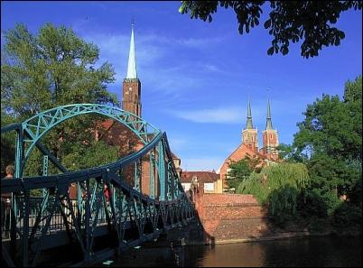 Wroclaw: Ostrów Tumski.