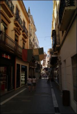 La calle comercial de Zafra