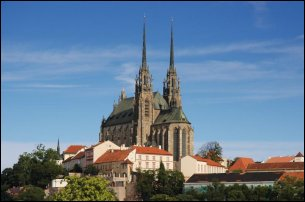 La Catedral de San Pedro y San Pablo en Brno