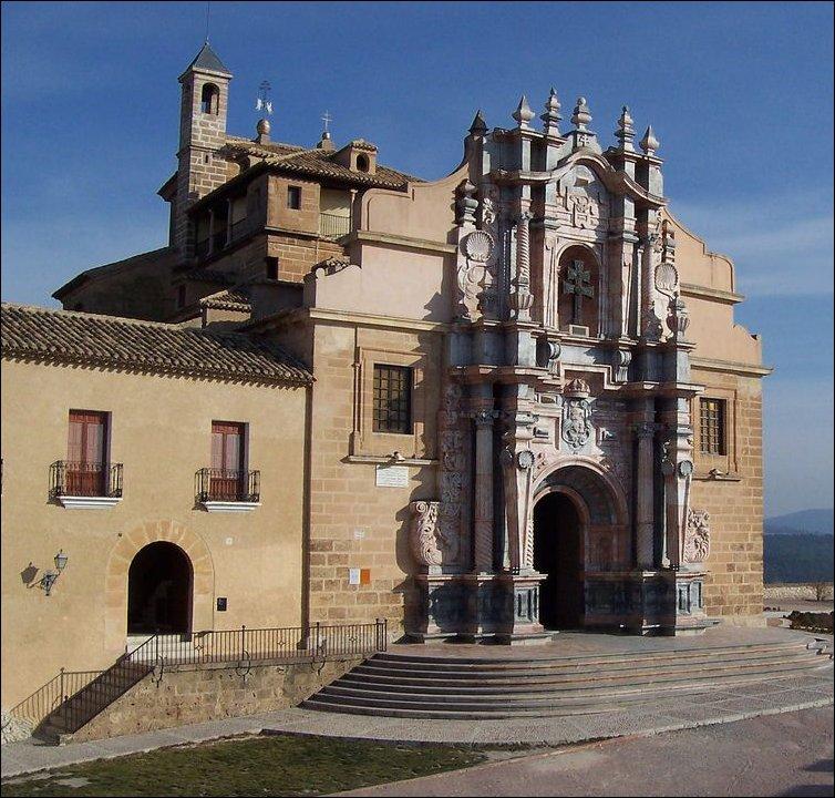 Santuario de Caravaca de la Cruz, leyenda de la región de Murcia